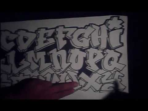 graffiti alphabet Video
