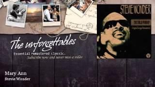 Watch Stevie Wonder Mary Ann video