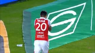 Liga Aguila | Santa Fe 2-0 Alianza Petrolera | Gol de Luis Seijas