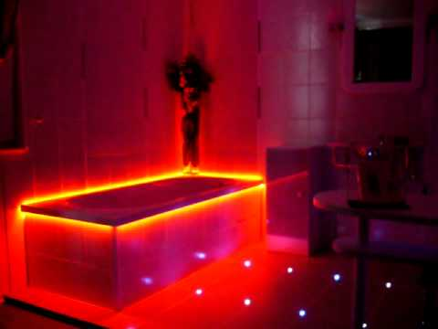led smd 5050 rgb streifen band 5m lang badewanne. Black Bedroom Furniture Sets. Home Design Ideas