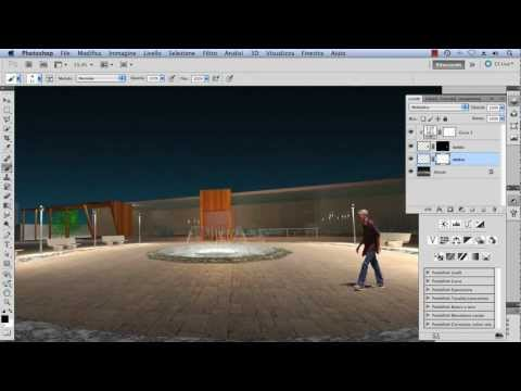 (3) Inserimento di un soggetto in contesto diverso – Video Tutorial Photoshop Italiano
