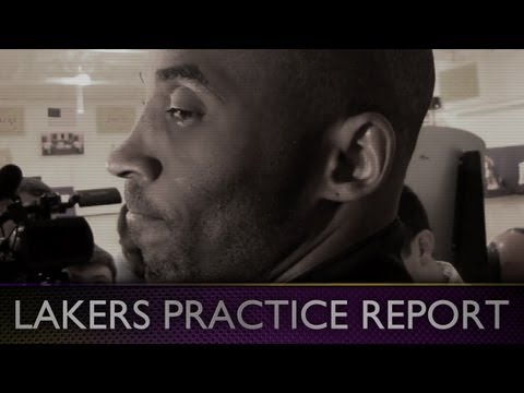 Lakers Practice: Kobe Gives World Peace X-Men Nickname & Talks Metta's Return