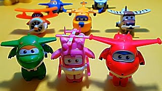 Super Wings Transforming Planes