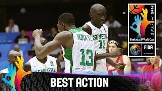Senegal v Puerto Rico - Best Action - 2014 FIBA Basketball World Cup