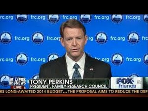 "Tony Perkins: ""The Pilgrims Came To America So We Can Deny Women Contraception Coverage"""