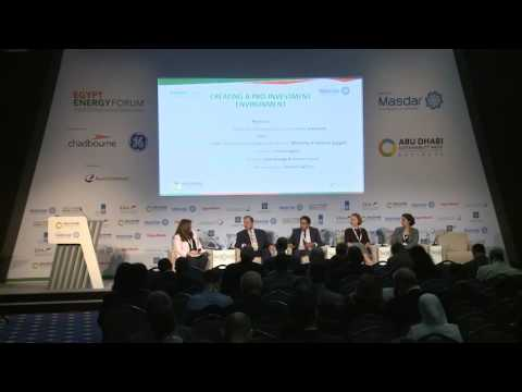 Egypt Energy Forum   Creating a Pro Investment Environment