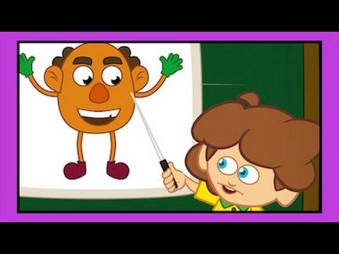 VÜCUDUMUZ Sevimli Dostlar Eğitici Çocuk Şarkıları