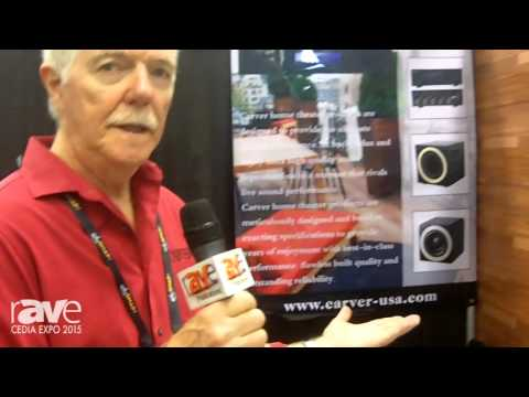 CEDIA 2015: Carver Launches BAS8 350-Watt 8-Inch Subwoofer and M300 and M1000 Stereo Amplifiers