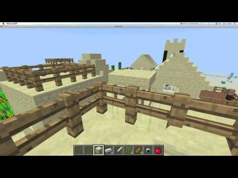 Minecraft 1.3.2 - Seed double village PNJ