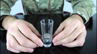 Shot Glass and a Coin Trick - Bar Tricks