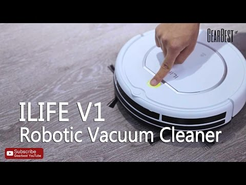 ILIFE V1 Robotic Vacuum Cleaner - Gearbest.com