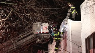 [ Queens 10-75 Box 7532 ] Fire on the 2nd Floor and Cockloft of a Private Dwelling
