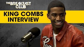 King Combs Talks '90's Baby' Mixtape, Dodges Charlamagne's Intrusive Questions