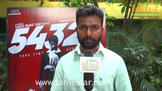 Ragavendra Prasath At 54321 Movie Team Interview