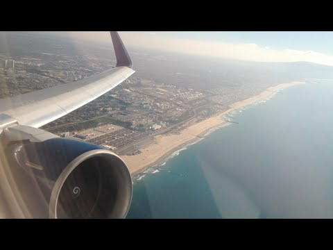 Delta Airlines Boeing 767-300ER (Winglets) Take Off from Los Angeles International Airport