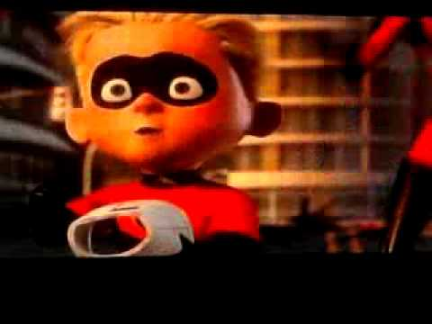 The incredibles baby angry