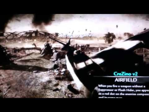 COD-WAW. Mod menu CreZino v2 (NO JAILBREAK) PS3.. TUTORIAL!!