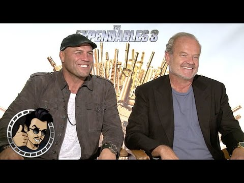 Kelsey Grammer and Randy Couture interview - The Expendables 3 (HD) 2014