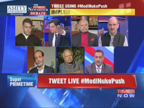 The Newshour Debate: Narendra Modi outdoes Manmohan Singh? - Part 2 (25th Jan 2015)