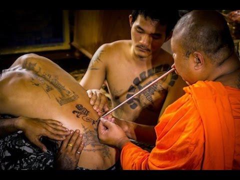 Bí ẩn hình xăm 5 dòng của người Thái