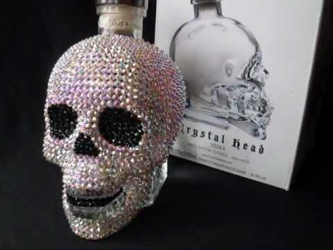 Crystal Skull Bong Crystal Head Vodka Skull