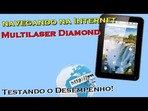 Navegando na Internet - Multilaser Diamond