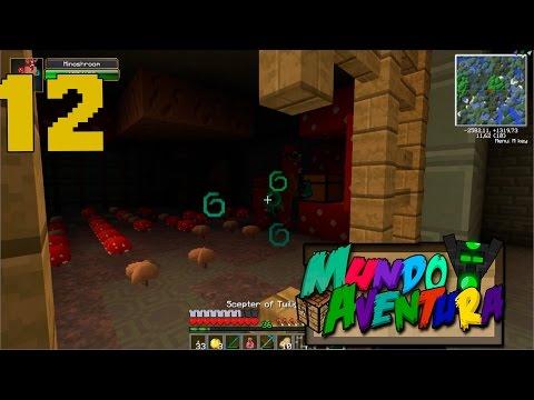 MINOTAUROOOOO MUNDO AVENTURA EPISODIO #12 MINECRAFT SERIE DE MODS sTaXx