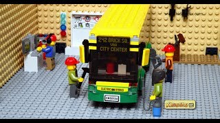 wheels on the bus lego | lego train |  lego bus | lego bus building | speed build | kids| kiddiestv