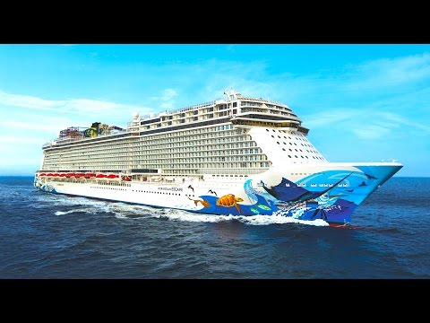 Norwegian Escape TOUR & cruise ship REVIEW decks and cabins  - ReiseWorld travel channel