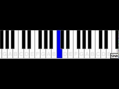 Thank you Flute on piano - SNK