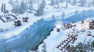 RUSSIAN ARMY INVASION FORCE IN AMERICA   Age of Empires III Gameplay