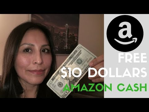 FREE $10 with Amazon cash when you deposit $20 until December 31 2017