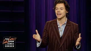 Harry Styles on the Articles of Impeachment (Thanks a Lot, James)