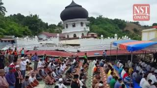 Aceh quake: Survivors' faith remains unshakeable despite tragedy