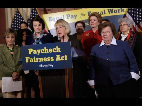 Time to Pass the Paycheck Fairness Act!