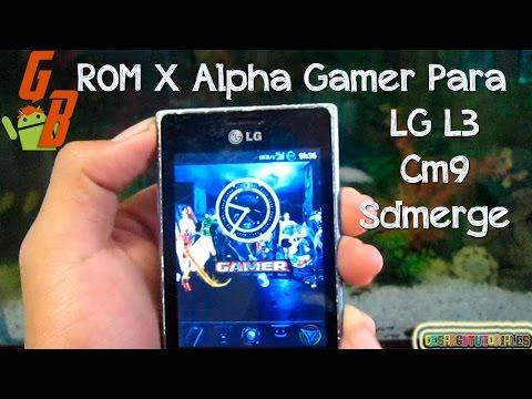Rom Para LG E400 E400F E40G   X Gamer Alpha   Cyanogenmod 9   Sdmerge   ♥