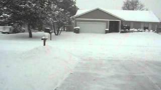 Rogers Arkansas snow 02/09/2011