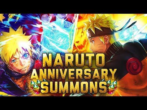 ** NARUTO 2YR ANNIVERSARY SUMMONS * | ** Naruto Ultimate Ninja Blazing *