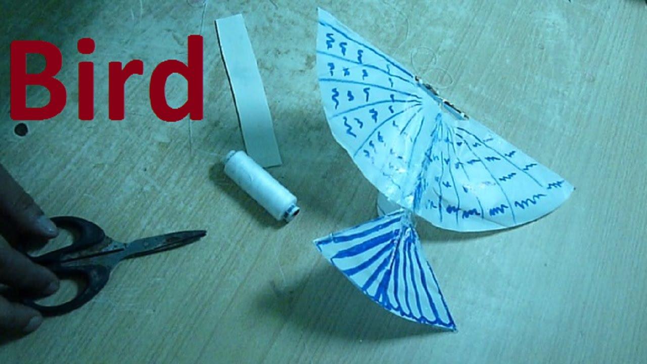Как сделать из бумаги орнитоптер 48