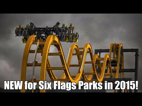 NEW for Six Flags Theme Parks in 2015!