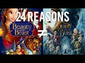 24 Reasons Beauty And The Beast (1991) & Beauty And The Beast (2017) Are Different