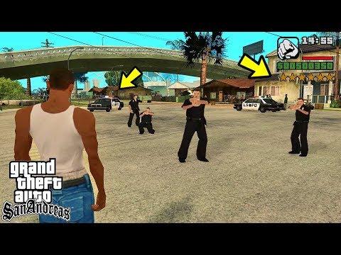 Куда едет полиция в GTA San Andreas?