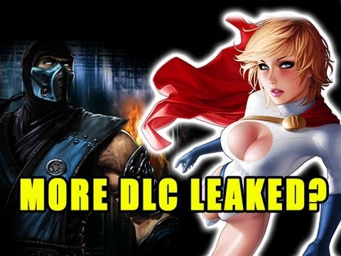 INJUSTICE DLC LEAK #2?! (Sub Zero, Martian Manhunter, Power Girl, Red Hood)