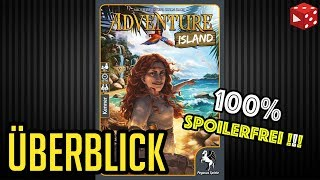 Adventure Island - 100% Spoilerfrei - (Michael Palm / Lukas Zach, Pegasus 2018)