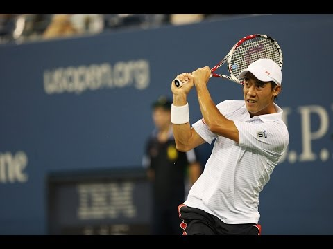 US OPen 2014 Semifinal Nishikori Vs Djokovic Highlights