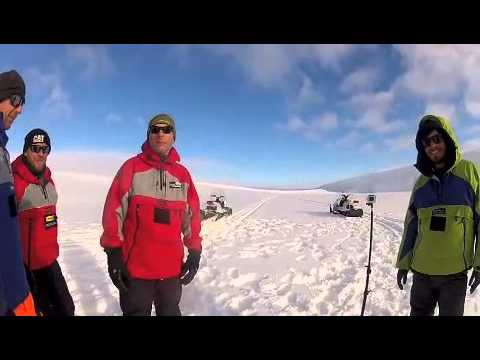 The Coldest Journey on Earth Sir Ranulph Fiennes - Radio Structures Proud Sponsors