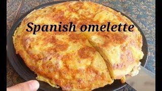 Telur dadar ala spanyol#spanish omelette