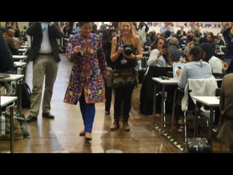 Climate Queen - goodbye song for Christiana Figueres, Secretary of the UNFCCC