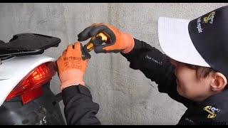 Roller Rücklicht reparieren Motorroller Explorer Race GT