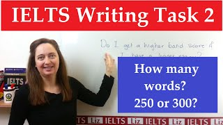 IELTS Writing: How many words for your Essay?